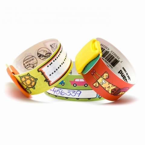 Infoband I.D. Travel Wrist Band for kids - Big Fish